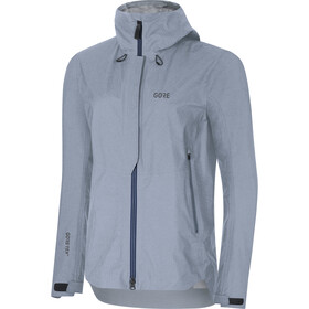 GORE WEAR H5 Women Gore-Tex Active Hooded Jacket Dame cloudy blue/deep water blue